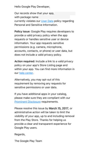 Google Akan Hapus Ribuan Aplikasi