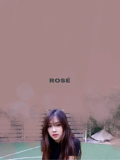 Wallpaper Blackpink Rose 5 Custom 82d79