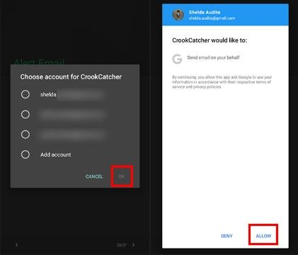 Langkah Lima Aplikasi Crook Catcher 3d66e
