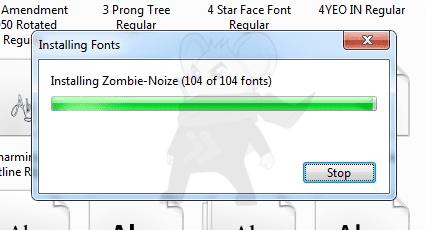 Font Windows3