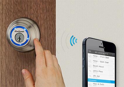 Kwikset Kevo Buka Kunci Pintu Menggunakan Bluetooth