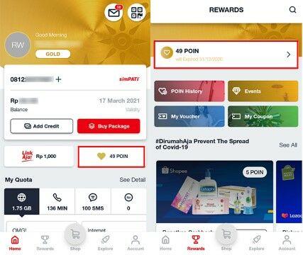Cara Cek Poin Telkomsel 2020 3d9ad