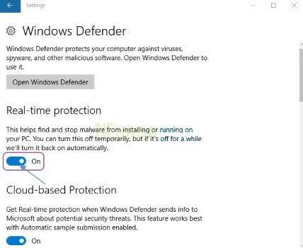 Cara Mengaktifkan Windows Defender Di Windows 10 C8511