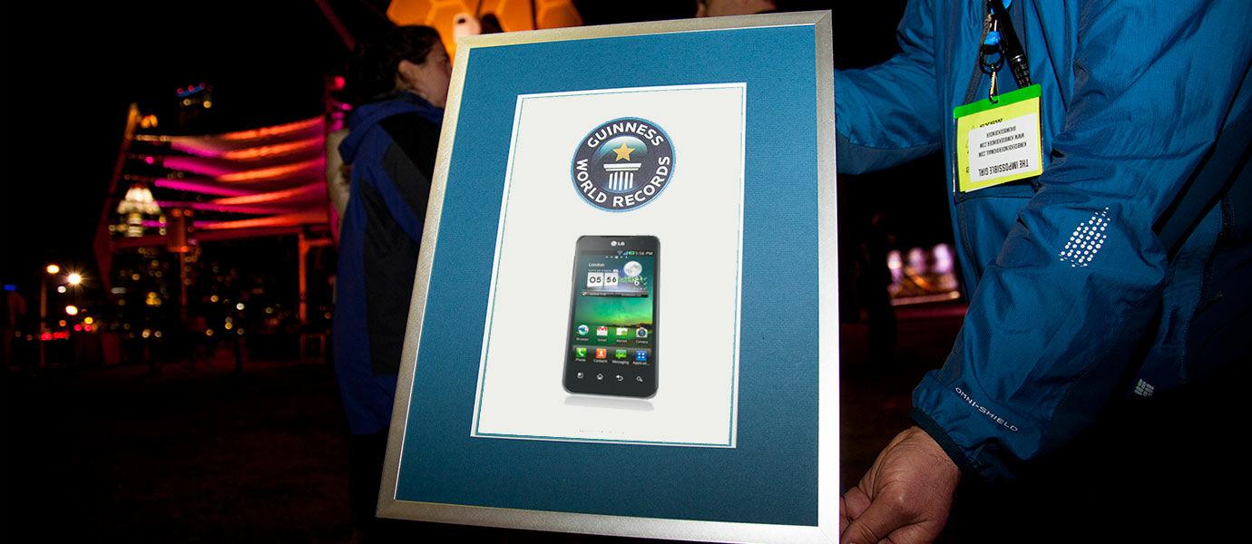 3 HP Android Pencetak Rekor Dunia