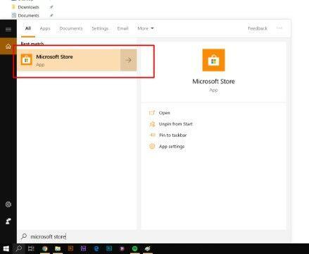 Langkah Dua Microsoft Store Png Custom 0807f