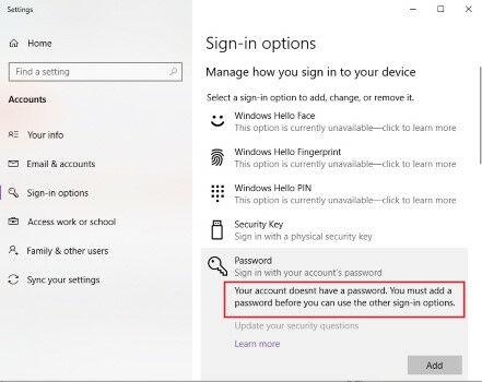 Cara Reset Password Windows 10 39ed2