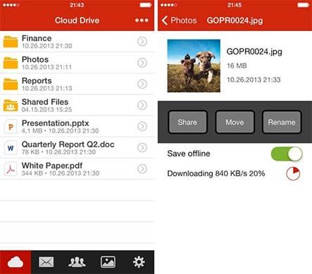 Aplikasi MEGA For IPhone Telah Dirilis 1
