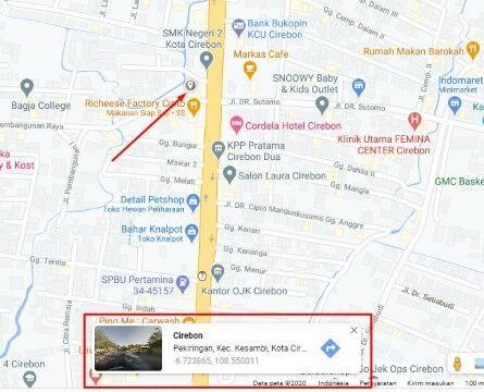 Cara Melihat Koordinat Di Google Maps Pc 13b31