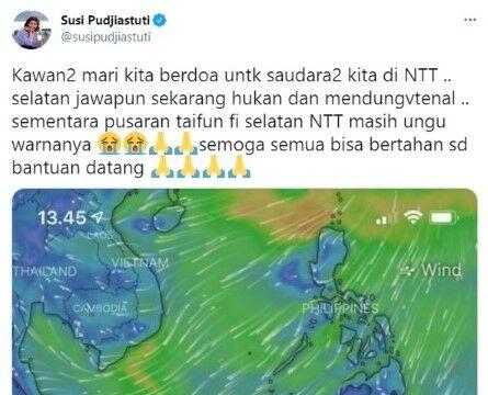 Susi Pudjiastuti Aplikasi Windy Peramal Cuaca 8e51a