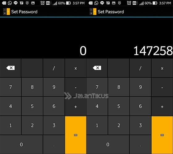 cara menyembunyikan file dalam kalkulator 2