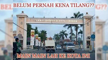 Meme Cirebon Kota Tilang 1