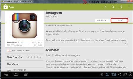 Cara Membuat Akun Instagram Di PC 5