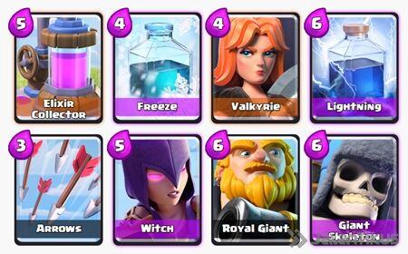 Battle Deck Royal Giant Clash Royale 17