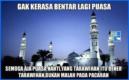 Meme Bulan Ramadhan 9