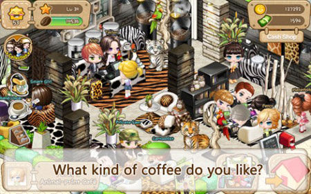 Line I Love Coffee 1