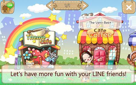 Line I Love Coffee 3