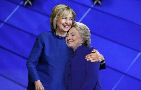 Obama Hiillary Clinton Korban Master Photoshop 4