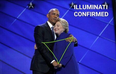 Obama Hiillary Clinton Korban Master Photoshop 6