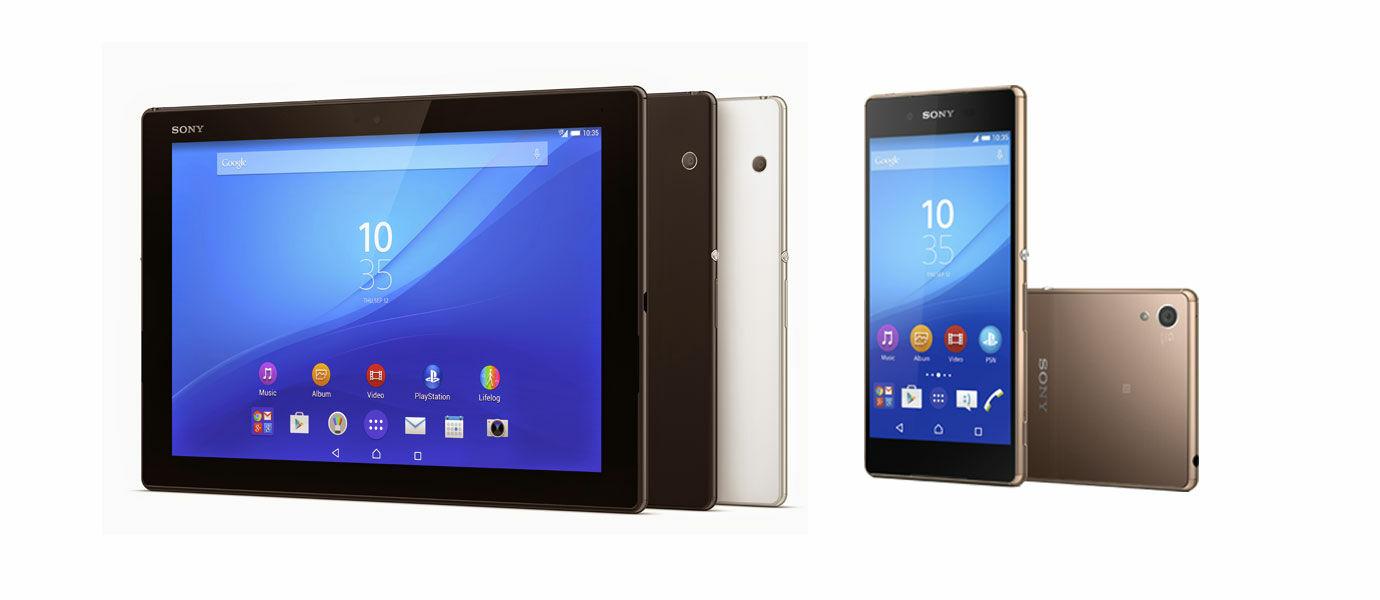 Sony Rilis Xperia Z3+ Dual, M4 Aqua, C4, dan Z4 Tablet, Inilah Harganya