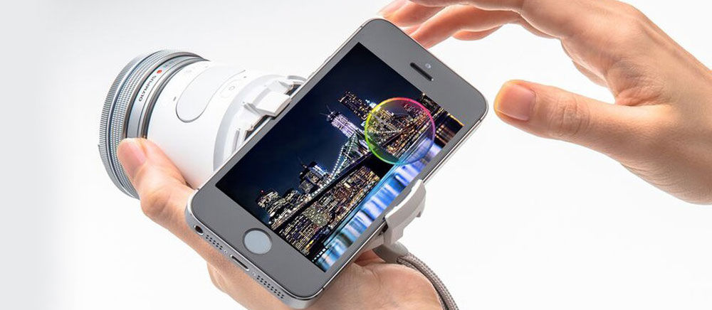 Olympus Air A01, Jadikan HP Android Kamu Berasa Seperti Kamera SLR