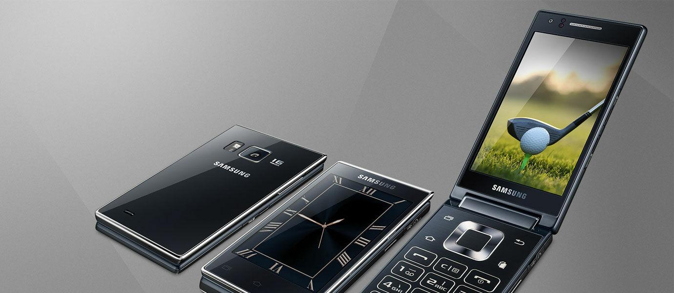 Samsung G9198, Smartphone Flip dengan Chipset Snapdragon 808
