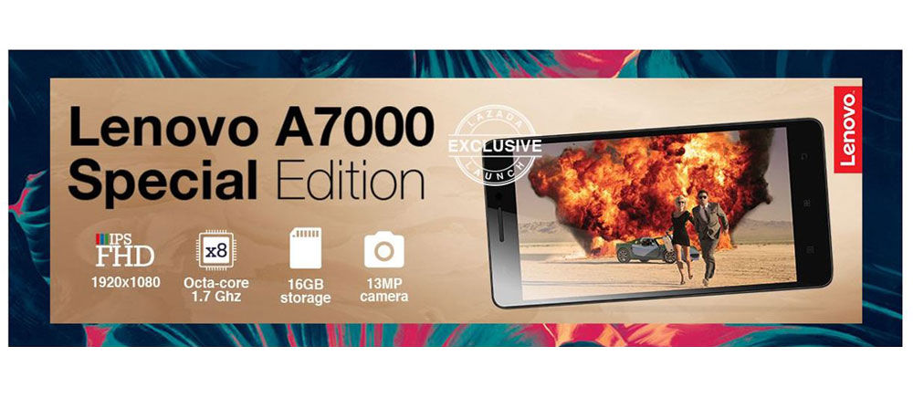Lenovo A7000 Special Edition, Tingkatkan Kualitas Layar serta Baterai dan Memori Lebih Besar