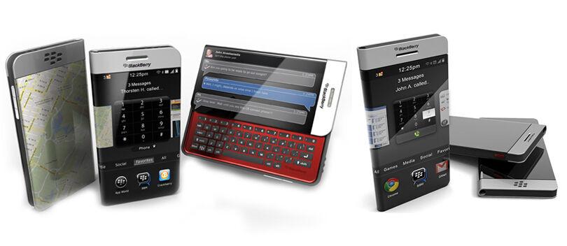 5 HP BlackBerry Keren Ini Gak Bakal Kamu temukan di Pasaran
