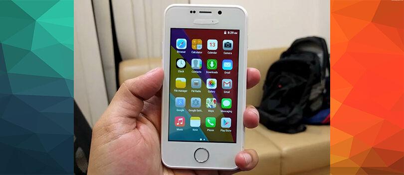 Wujud Smartphone Termurah di Dunia Ternyata Mirip Kayak iPhone!