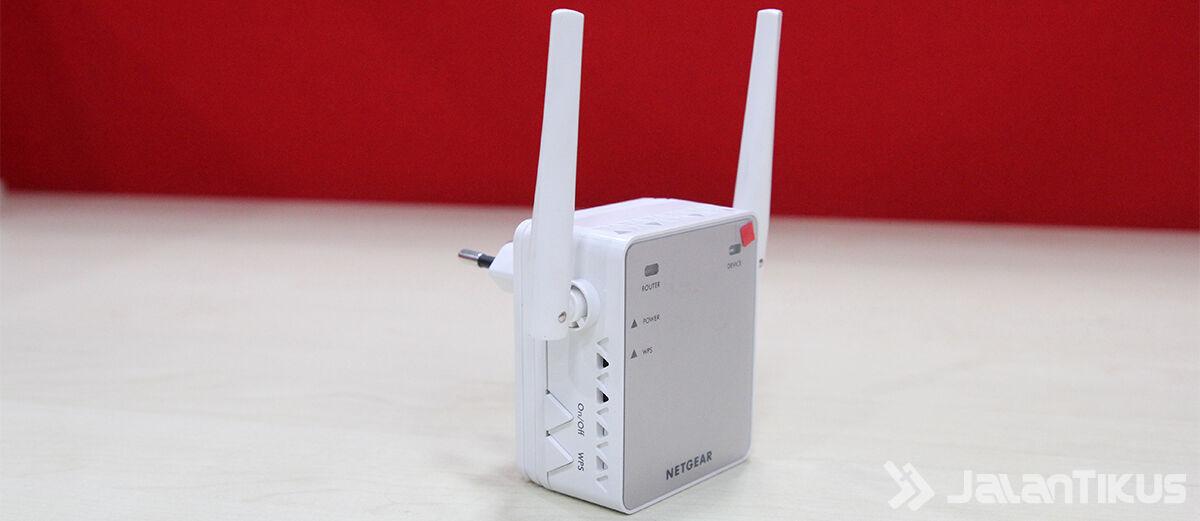 Cara Memperluas WiFi Kamu dengan Netgear WiFi Extender EX2700