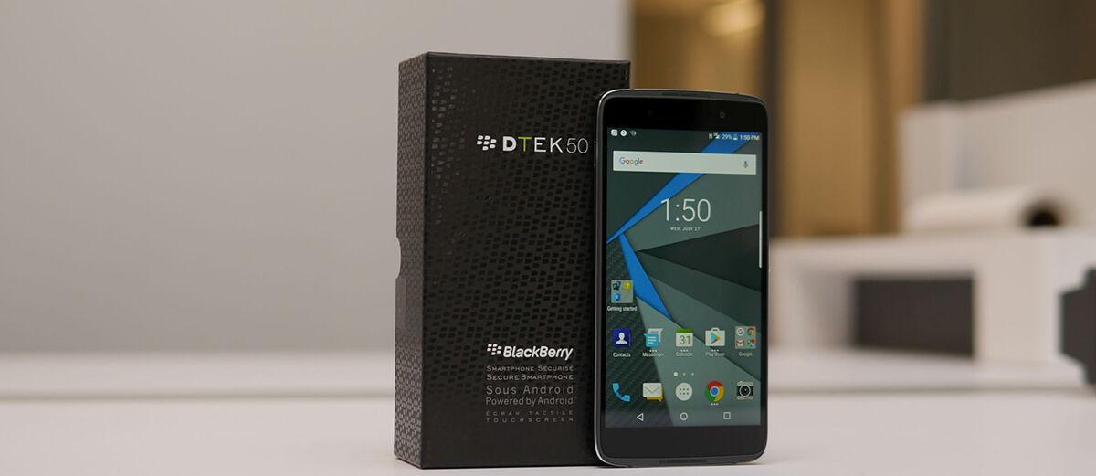 BlackBerry DTEK50, Smartphone Android Paling Aman dengan Harga Murah