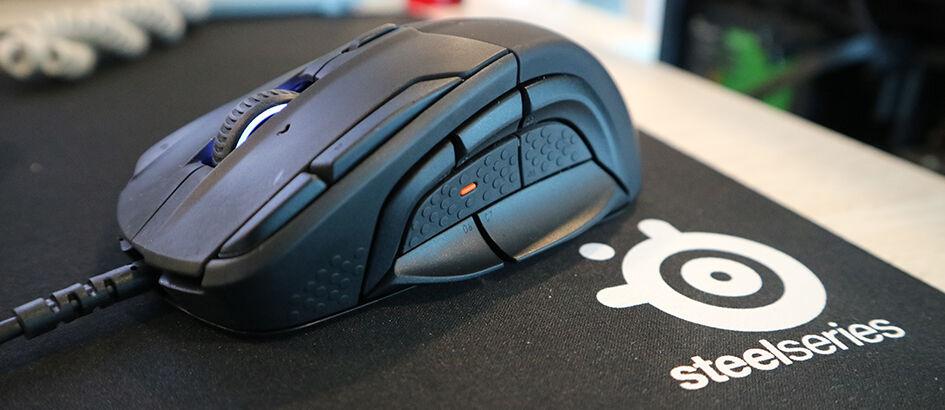 Mouse Terbaik Untuk Game MOBA/MMO? Cek Review SteelSeries Rival 500!