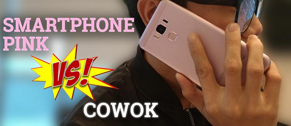 Benarkah Smartphone Pink Hanya untuk Cewek? Baca Ini!