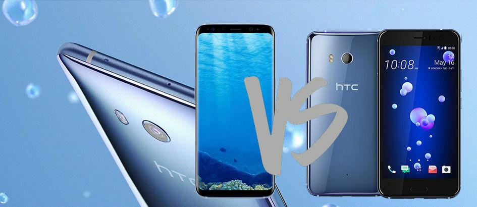 Adu Jotos Android yang Bisa Diremas HTC U11 Vs Galaxy S8, Pemenangnya?