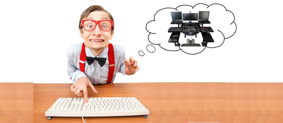 15 Kelakuan Aneh Maniak Komputer Ini Bikin Ngakak! Nomor 6 NIAT BANGET