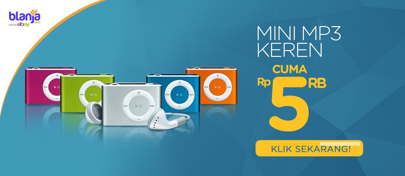 [UPDATE] Hanya Hari Ini, di JalanTikus Beli Mini MP3 Player Hanya Seharga Rp.5.000!