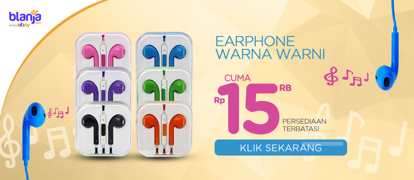 Nantikan Promo Eksklusif Earphone Warna-Warni Murah Hanya di JalanTikus!