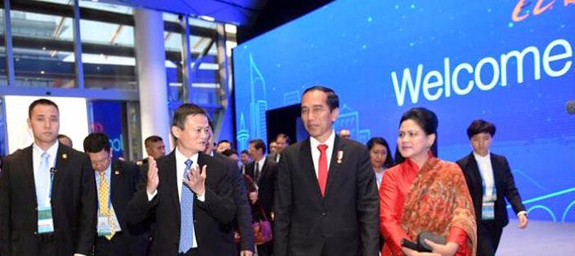 Jokowi Minta Alibaba Menjadi Penasihat Komite e-Commerce Indonesia