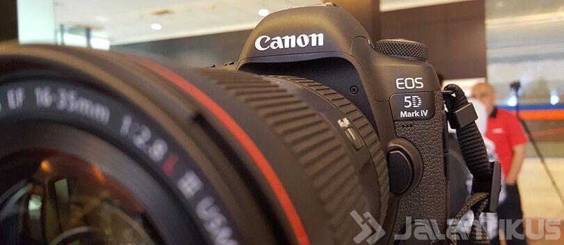 Canon EOS 5D Mark IV Dirilis di Indonesia Dengan Spesifikasi Tinggi