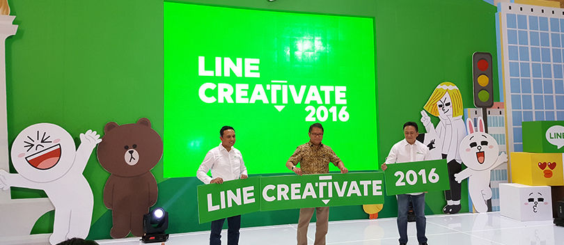 LINE CREATIVATE 2016, Ajang Kreativitas Terbesar Karya Anak Bangsa