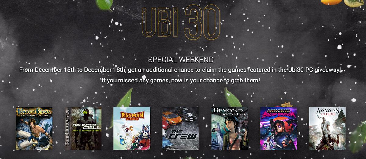 Klaim Sekarang! Hari Ini Ubisoft Bagi-Bagi 7 Game Gratis untuk Para Gamer