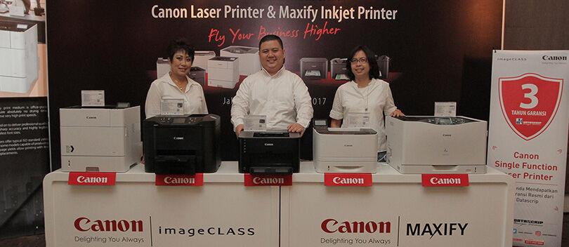 Canon Resmi Merilis 2 Tipe Printer dan Harga Terbarunya