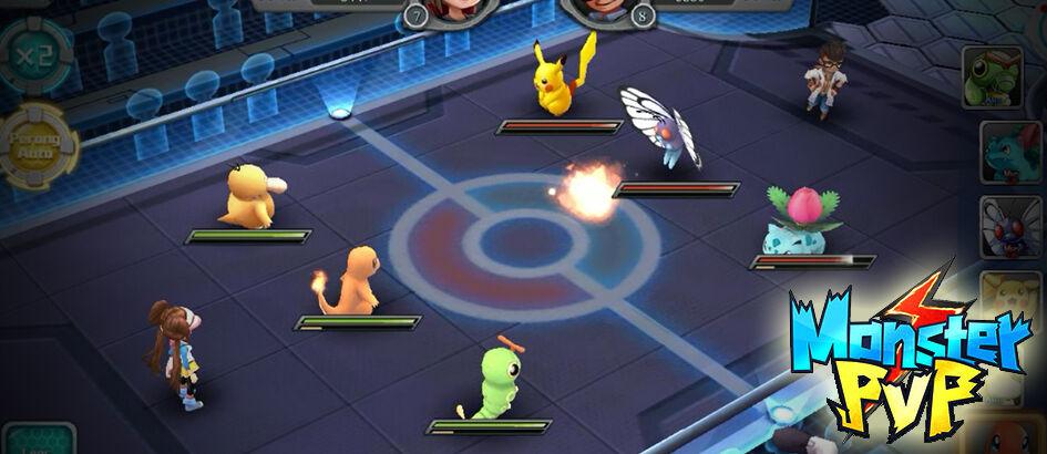 Monster PVP Hadir di Android dan iOS Untuk Penggemar Game Pokemon