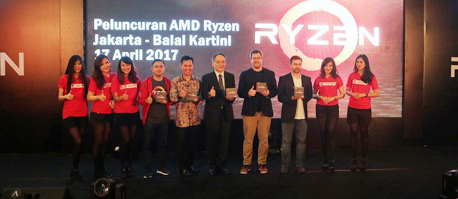 Gempur Kelas Menengah, AMD Ryzen 5 Resmi Rilis Dengan Harga Bersaing