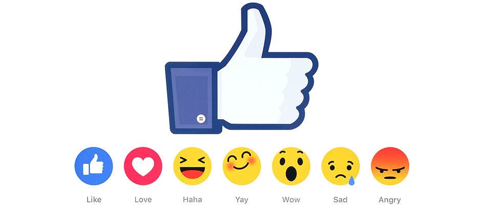 Makin Canggih! Kini Reaction Bisa Digunakan di Komentar Facebook