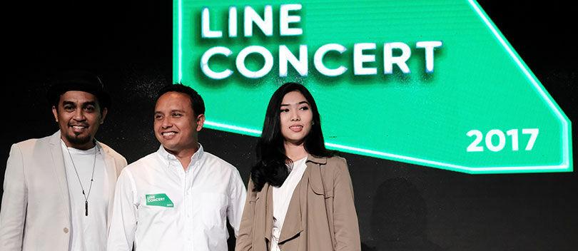 LINE Concert #MusikAsikCaraLINE, Persembahan Terbaru Khusus Indonesia dari LINE
