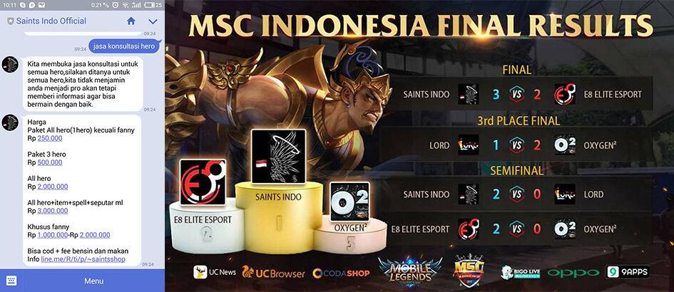 Cuma Rp 3 Juta Jasa Konsultasi Hero Mobile Legends, Minat?