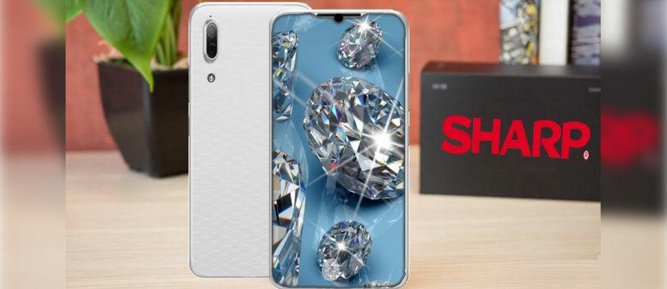 Smartphone Tanpa Bezel Sharp Punya RAM 6GB dan Dual Kamera?