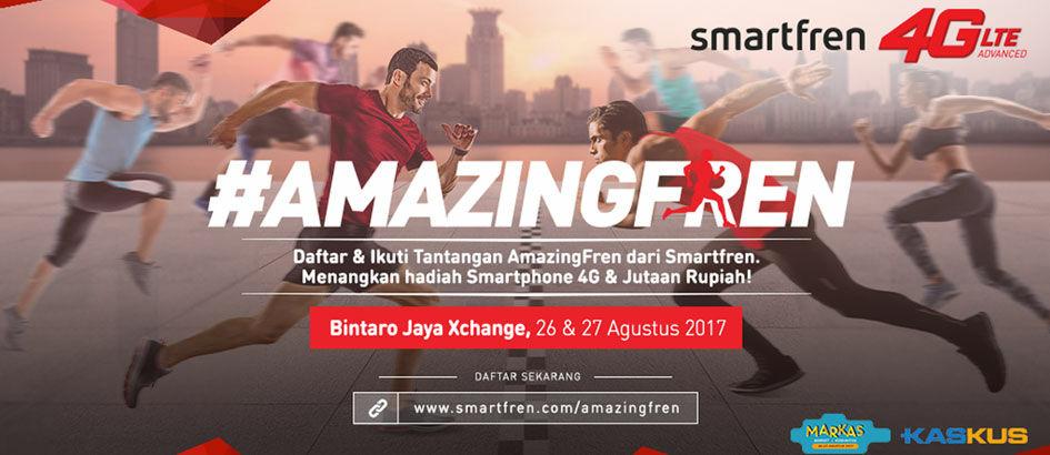 Mau Smartphone dan Uang Jutaan Gratis? Yuk Ikutan #AmazingFren!