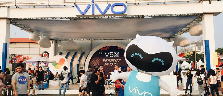 Mini V dan Vivo Perfect Spot Sukses Meriahkan We The Fest 2017!