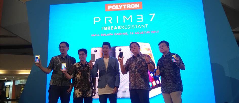 Polytron Prime 7, Smartphone Lokal Paling Tahan Banting!